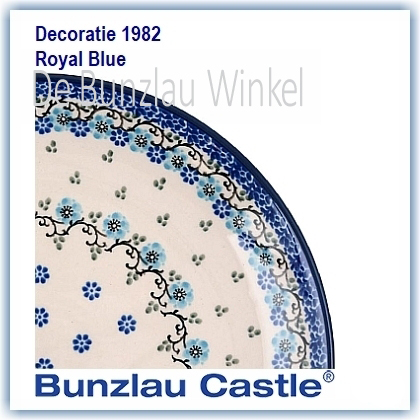Bunzlau Royal Blue (1982)
