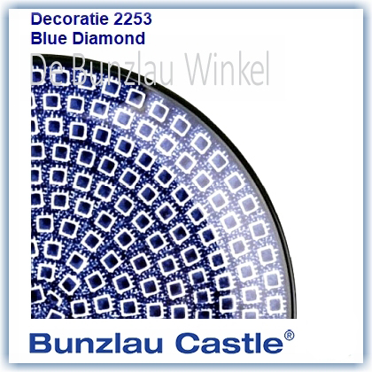 Bunzlau Blue Diamond (2253)