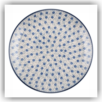 Bunzlau Dinerbord Ø23,5cm (1266) - Flower Fountain (2068)