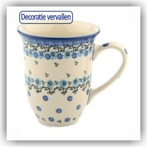 Bunzlau Tulp XL Beker 500ml (1826) - Royal Blue (1982)