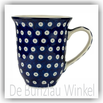 Bunzlau Tulp XL Beker 500ml (1826) - Blue Eyes (71)