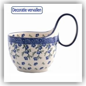 Bunzlau Waterscoop/Soepkom 400ml (1845) - Ivy (1823)