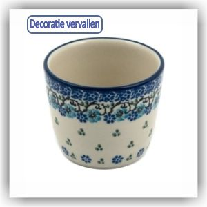 Bunzlau Strakke beker S - 190ml (2289) - Royal Blue (1982)
