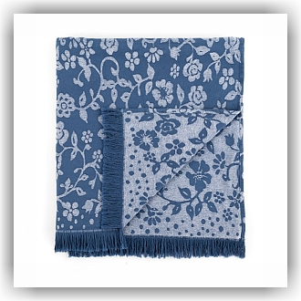 Bunzlau Zomerdeken - Summer Breeze - Denim blauw (3523)