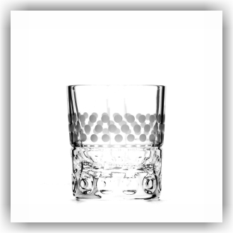 Bunzlau Whiskey glas - Delightful Dots (5030)