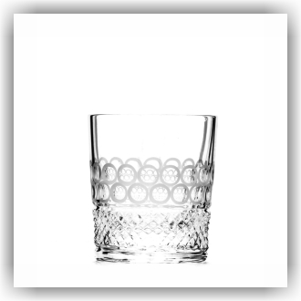 Bunzlau Whiskey glas - Pearls (5050)