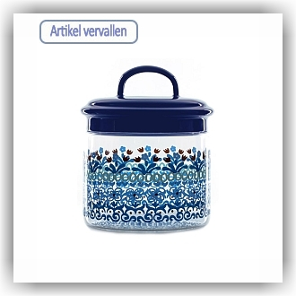 Bunzlau Glazen pot Marrakesh - 600 ml (7101)