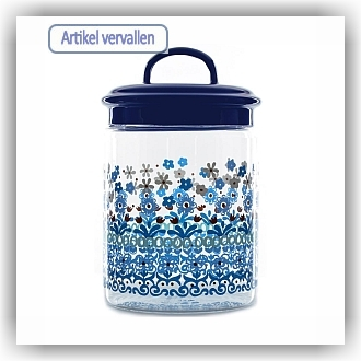 Bunzlau Glazen pot Marrakesh - 1200 ml (7102)